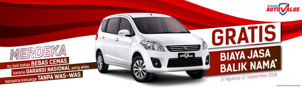 Suzuki Auto Value Gratiskan Biaya Jasa Balik Nama - Dealer ...
